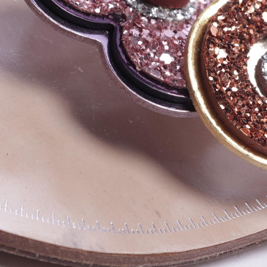 Sandalen von Miu Miu in Silber Gr. EUR 37,5