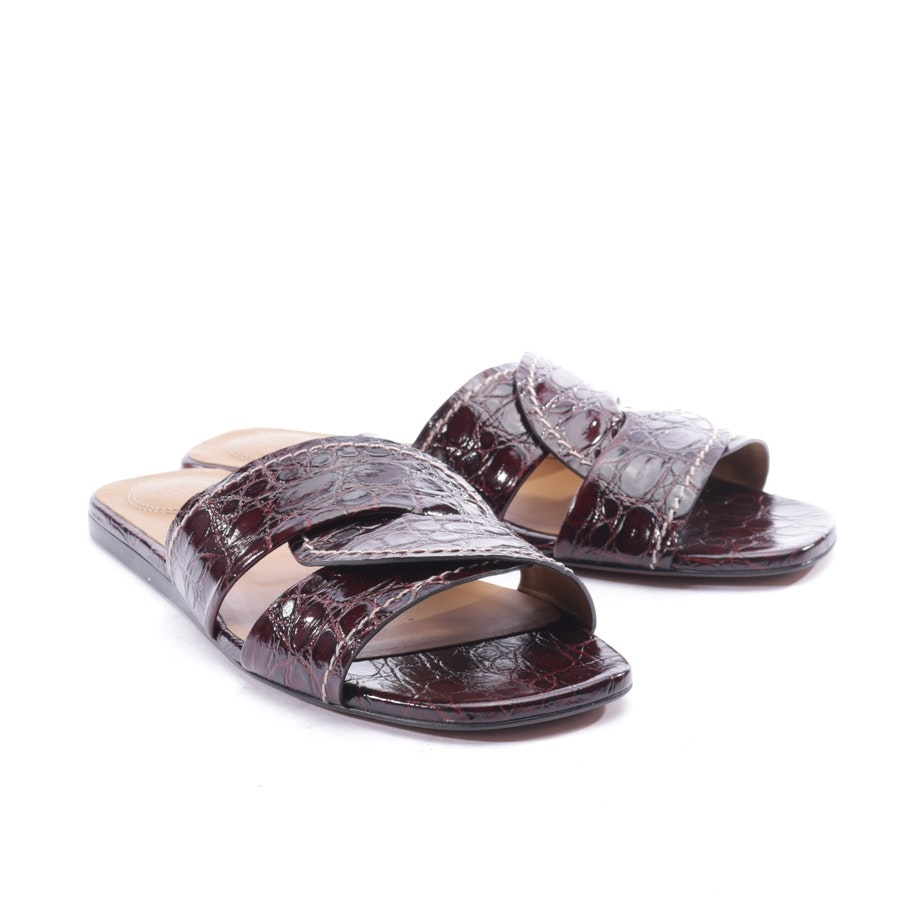 flat sandals from Chloé in bordeaux size EUR 39 - new