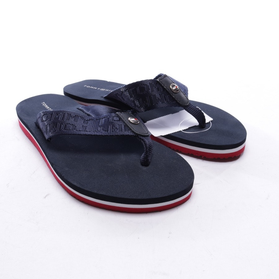 flat sandals from Tommy Hilfiger in navy blue and white size EUR 36 - new