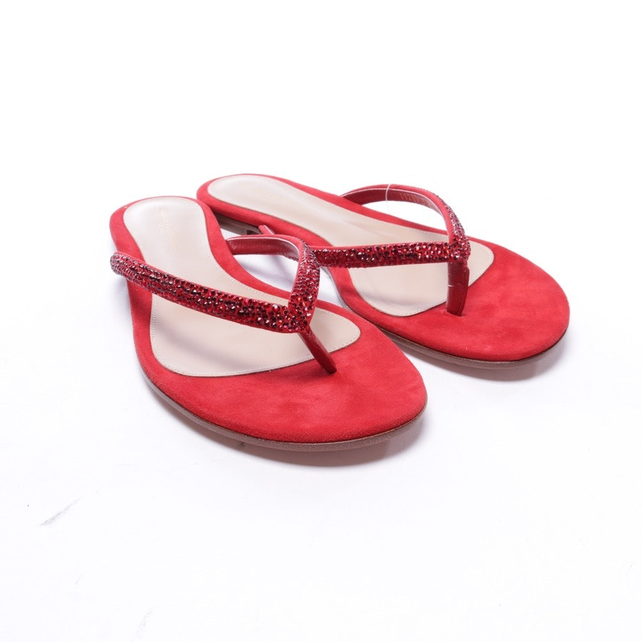flat sandals from Gianvito Rossi in red size EUR 39,5 - new
