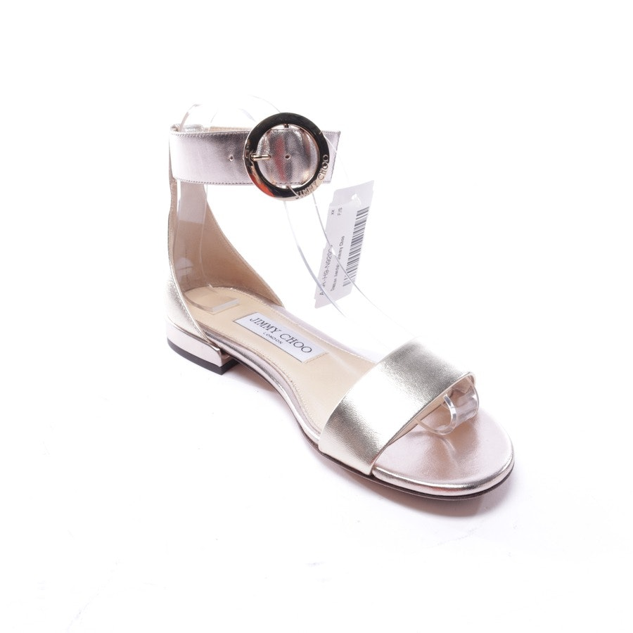 flat sandals from Jimmy Choo in gold size EUR 36 - new
