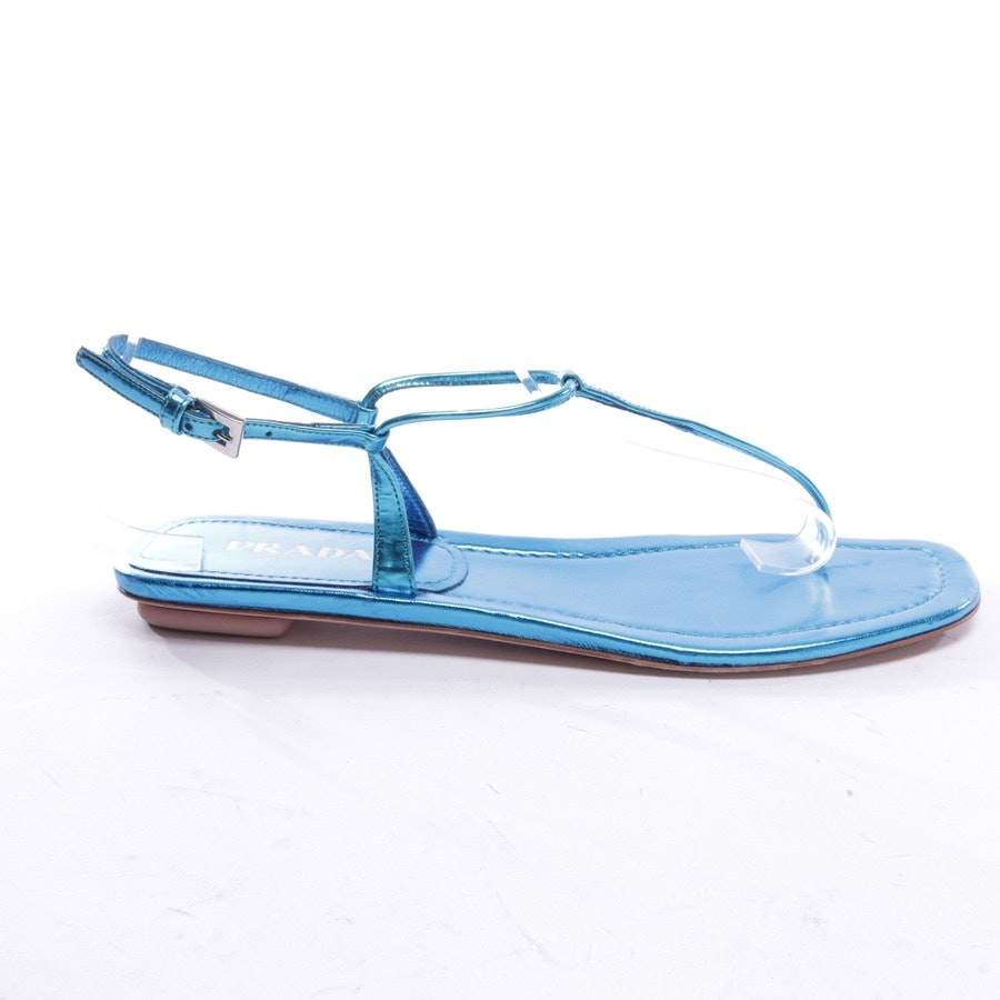 flat sandals from Prada in blue size EUR 40