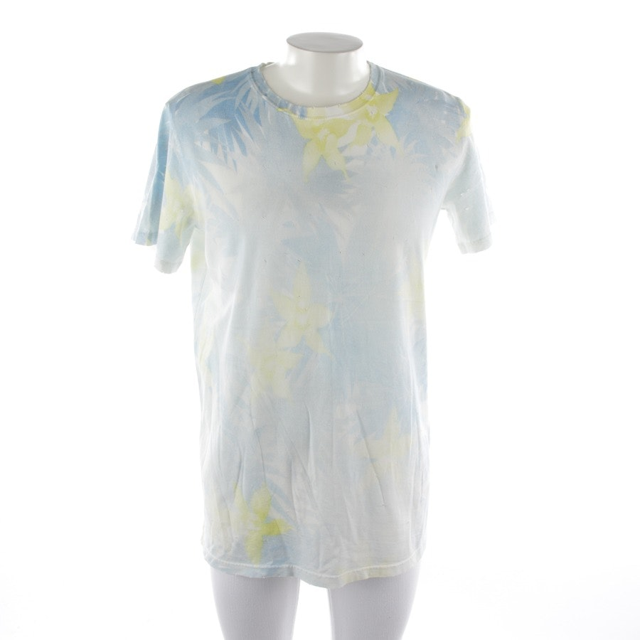 t-shirt from Balmain in white and blue size S - new