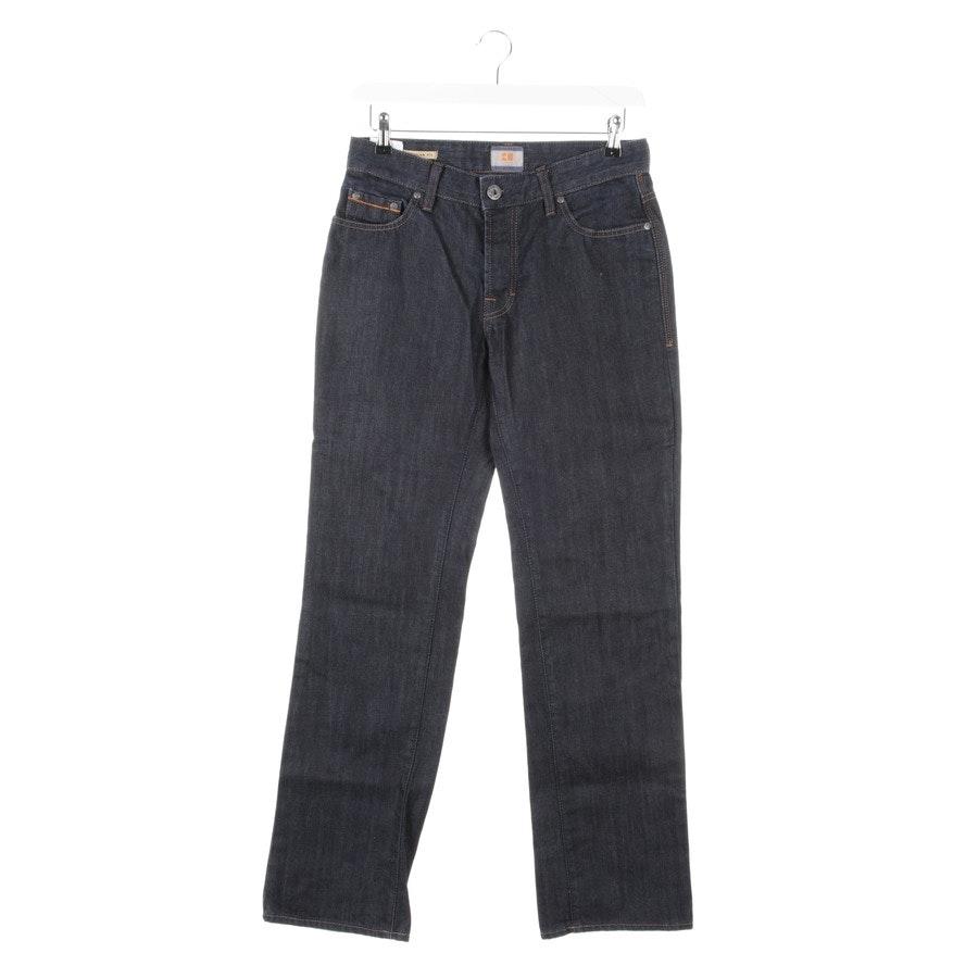 Jeans von Hugo Boss Orange in Dunkelblau Gr. W32