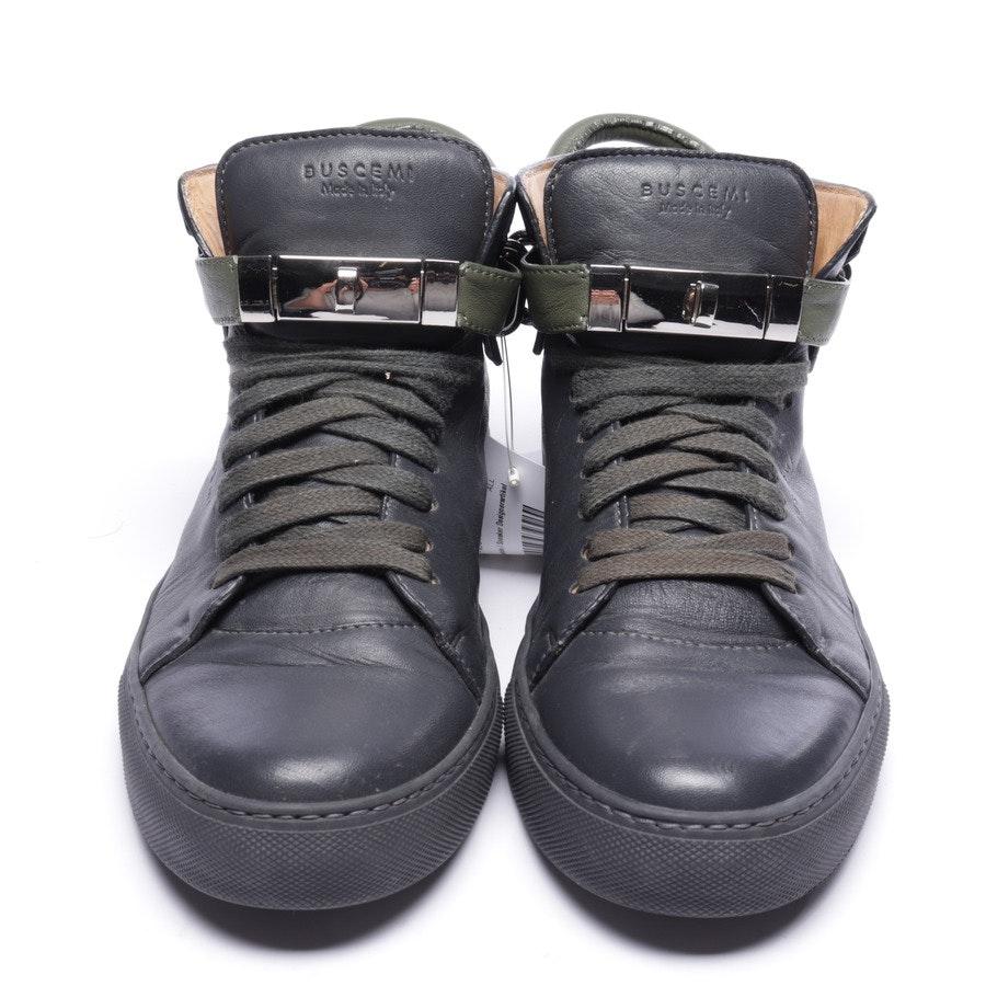 High-Top Sneaker von Buscemi in Dunkelblau und Grün Gr. EUR 42