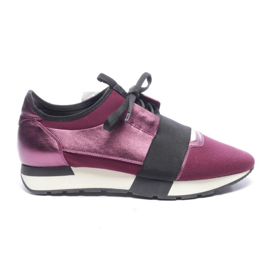 Sneaker von Balenciaga in Aubergine und Schwarz Gr. EUR 41 - Race Runner - Neu