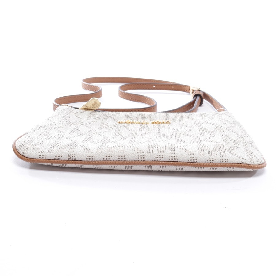 evening bags from Michael Kors in white and brown