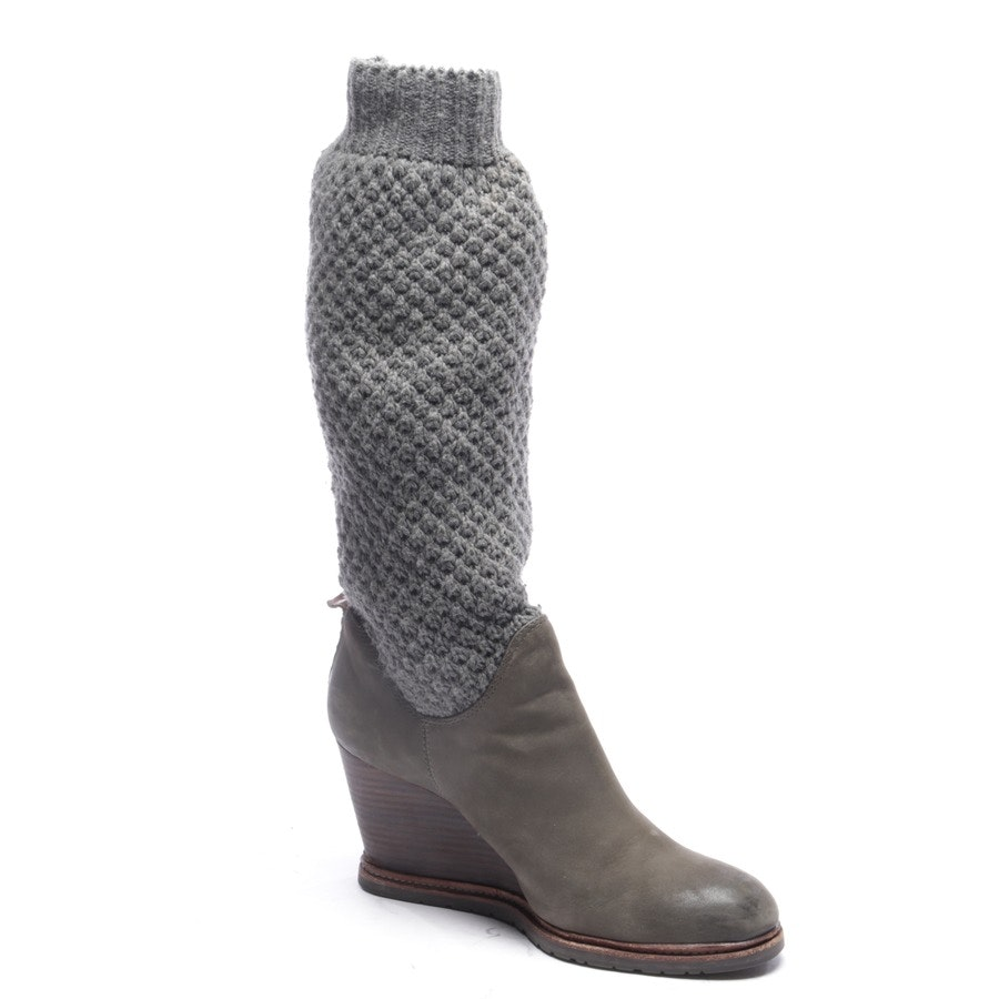 boots from Marc O'Polo in khaki and grey size EUR 41