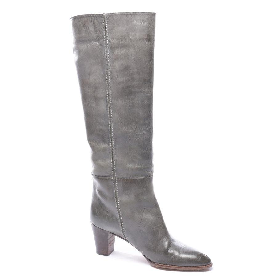 Stiefel von Chloé in Graugrün Gr. EUR 40