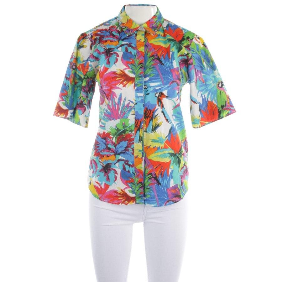 Bluse von Love Moschino in Weiß und Multicolor Gr. 34 IT 40