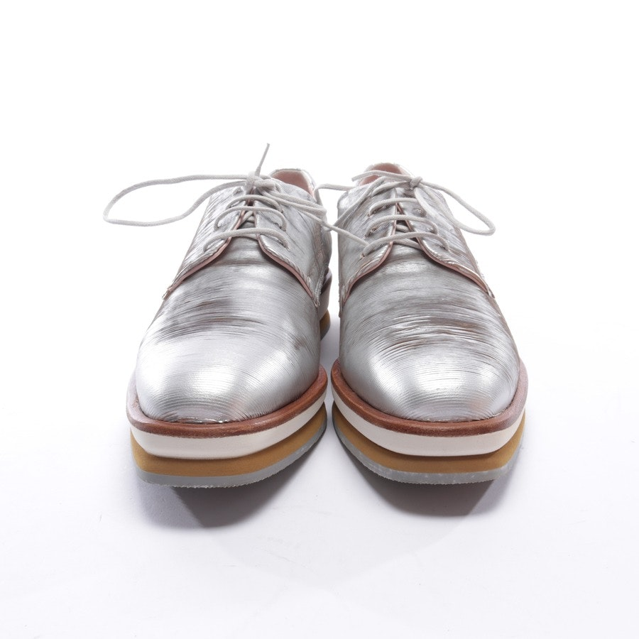 loafers from Marc Cain in silver size EUR 38 - new