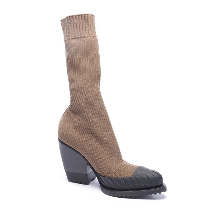 Stiefel von Chloé in Braun und Schwarz Gr. EUR 36,5 - Neu