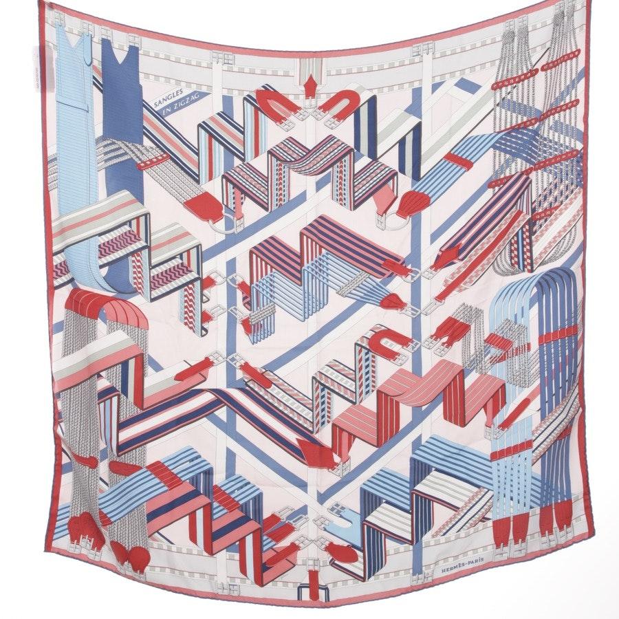 Seidencarré von Hermès in Multicolor - Sangles en Zigzag