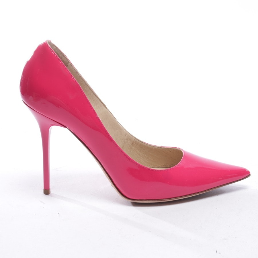 pumps from Jimmy Choo in neon pink size EUR 37