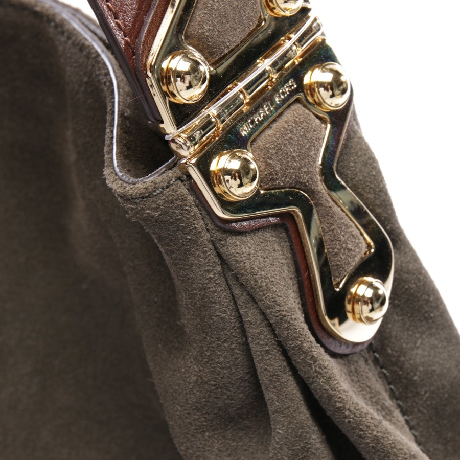 shoulder bag from Michael Kors in olive green and brown - joplin