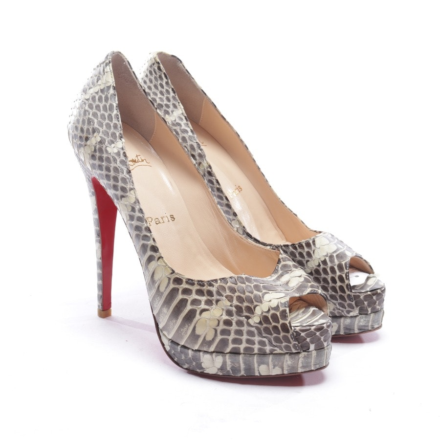 Pumps von Christian Louboutin in Multicolor Gr. EUR 38 - Neu