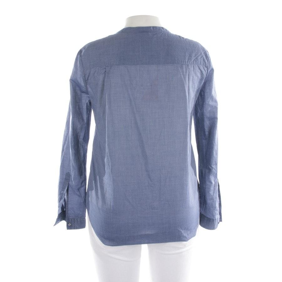 Bluse von Hugo Boss Orange in Blau Gr. 36 - Neu