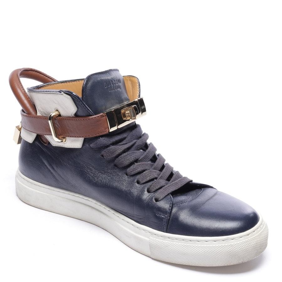 High-Top Sneaker von Buscemi in Dunkelblau und Braun Gr. EUR 42