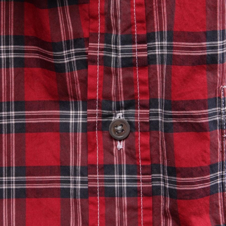 Hemd von Balmain in Rot und Mehrfarbig Gr. 39-40