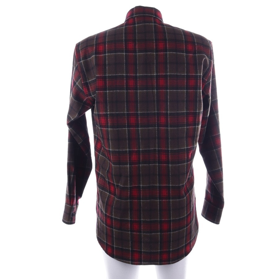 casual shirt from Saint Laurent in red-brown and white size 37-38