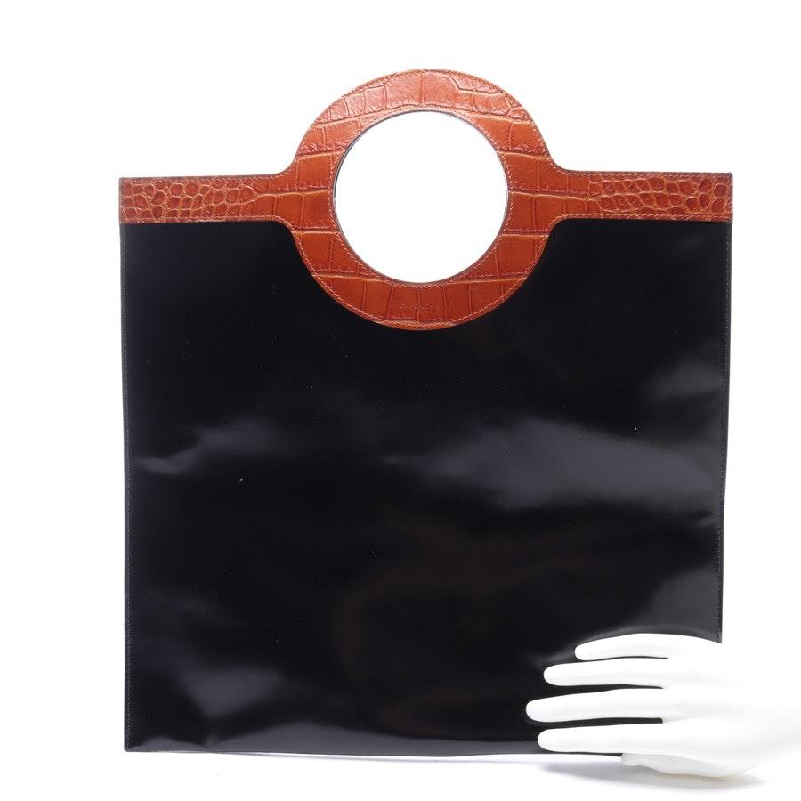 Handtasche von Givenchy in Schwarz und Braun - Flat Tote Bag Neu