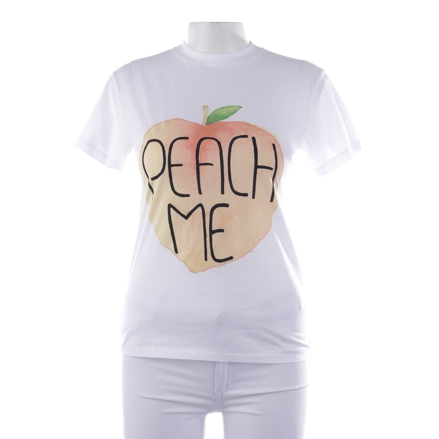 shirts from Ganni in white and orange size XS - new