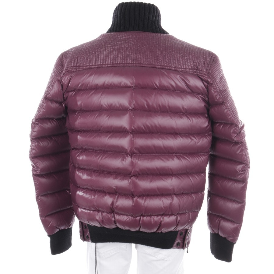 winter coat from Balmain in plum and black size M - new