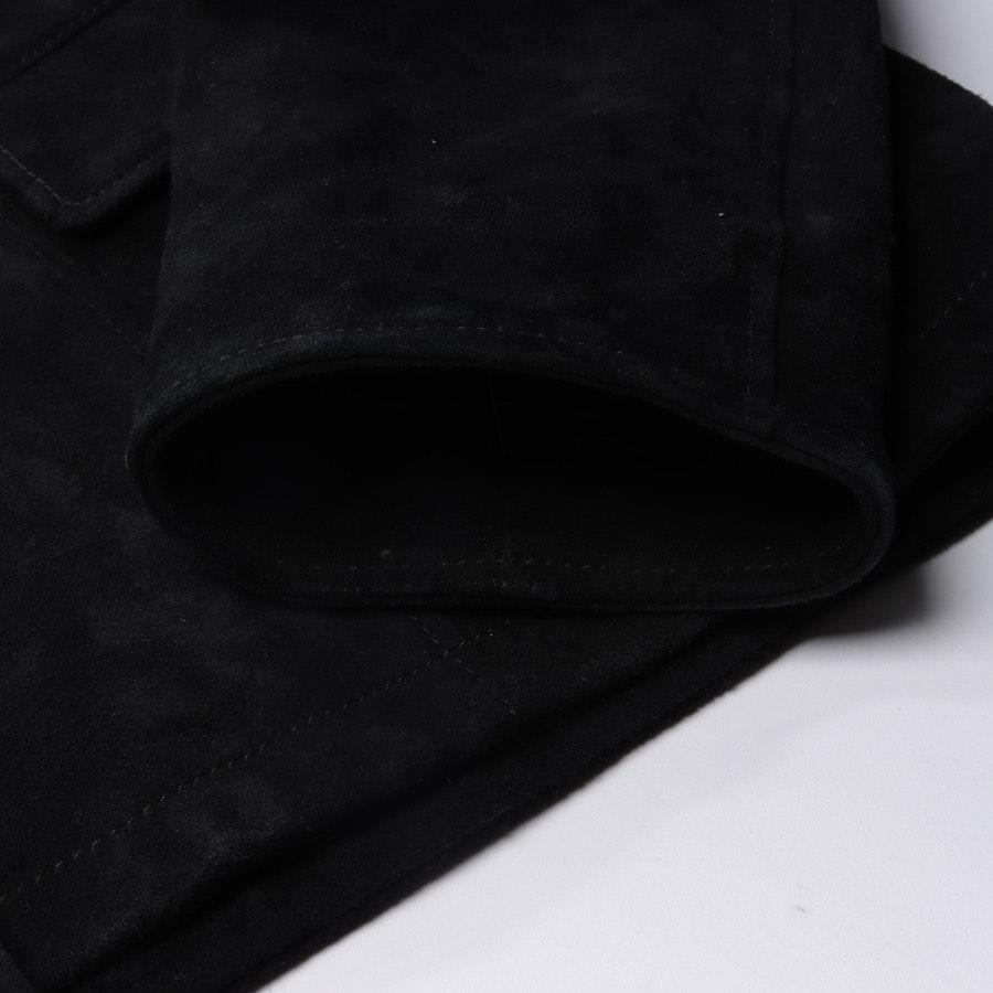 Lederjacke von Saint Laurent in Schwarz Gr. 48 - Neu