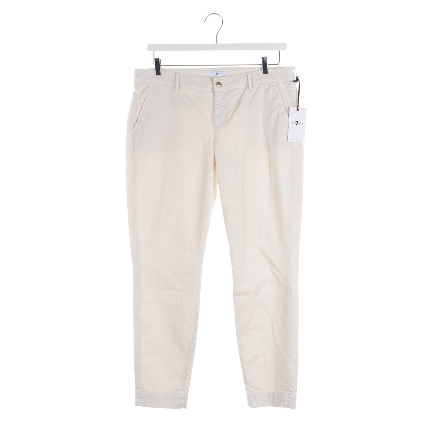 trousers from 7 for all mankind in beige size W27 - new - roxanne
