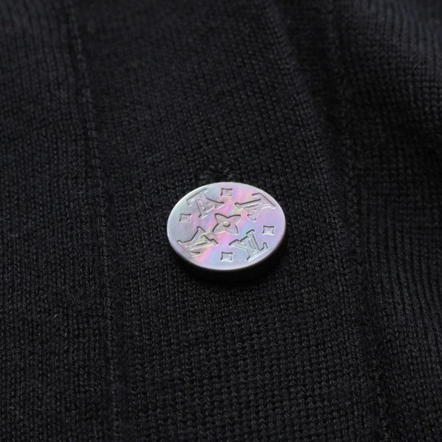Feinstrickjacke von Louis Vuitton in Schwarz Gr. 34 FR 36
