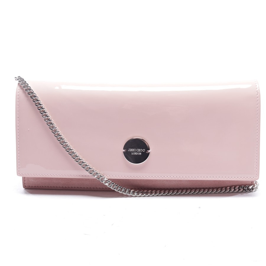 clutches from Jimmy Choo in pink