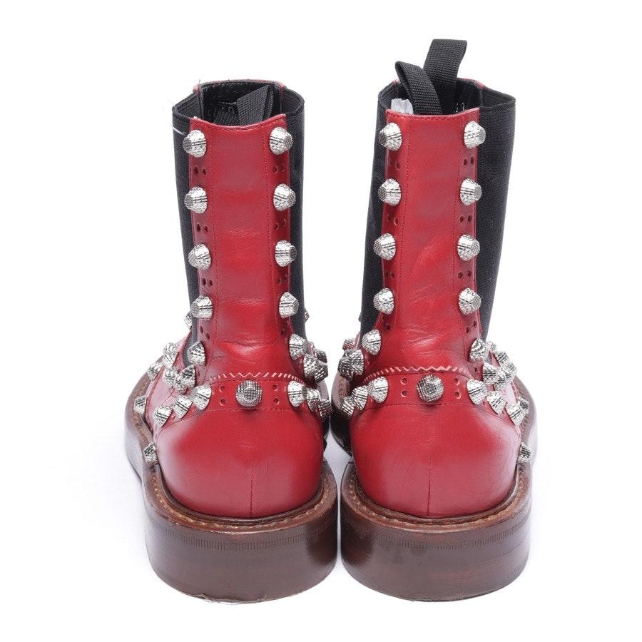 Stiefel von Balenciaga in Rot und Schwarz Gr. EUR 38