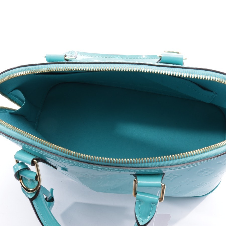 handbag from Louis Vuitton in turquoise - alma pm