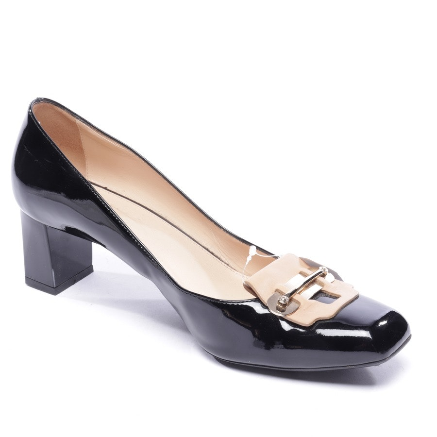 pumps from Tod´s in black and beige size EUR 40,5