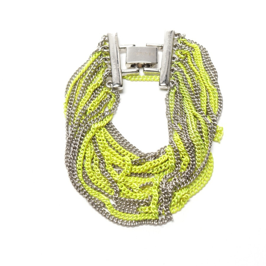 jewellery from Max & Co. in neon yellow and silver