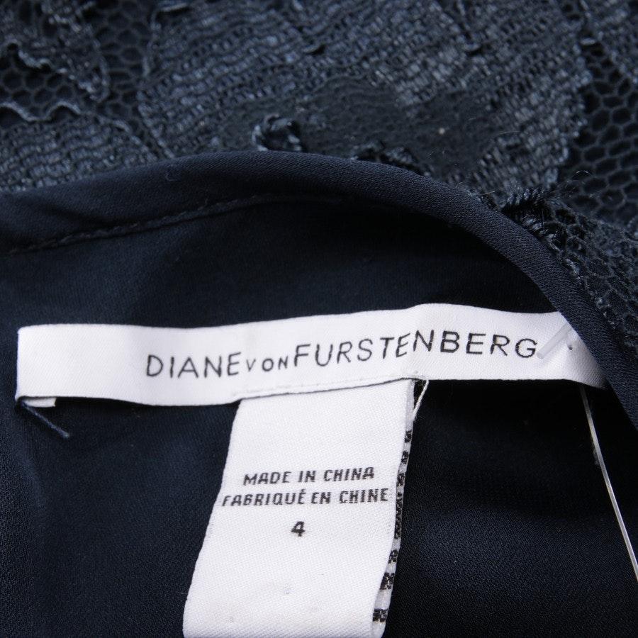 Spitzenkleid von Diane von Furstenberg in Dunkelblau Gr. 34 US 4