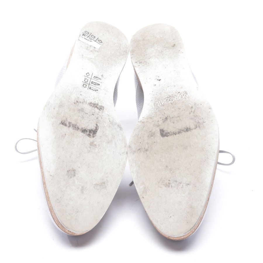 loafers from Marc Cain in silver size EUR 36