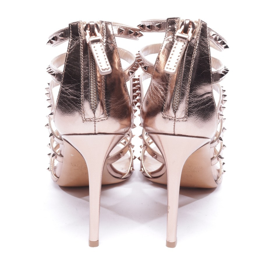 heeled sandals from Valentino in rosé size EUR 38 - rockstud