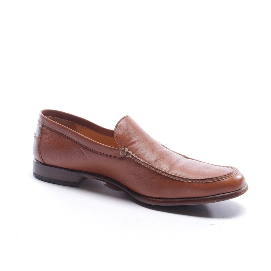 loafers from Hermès in cognac size EUR 45,5