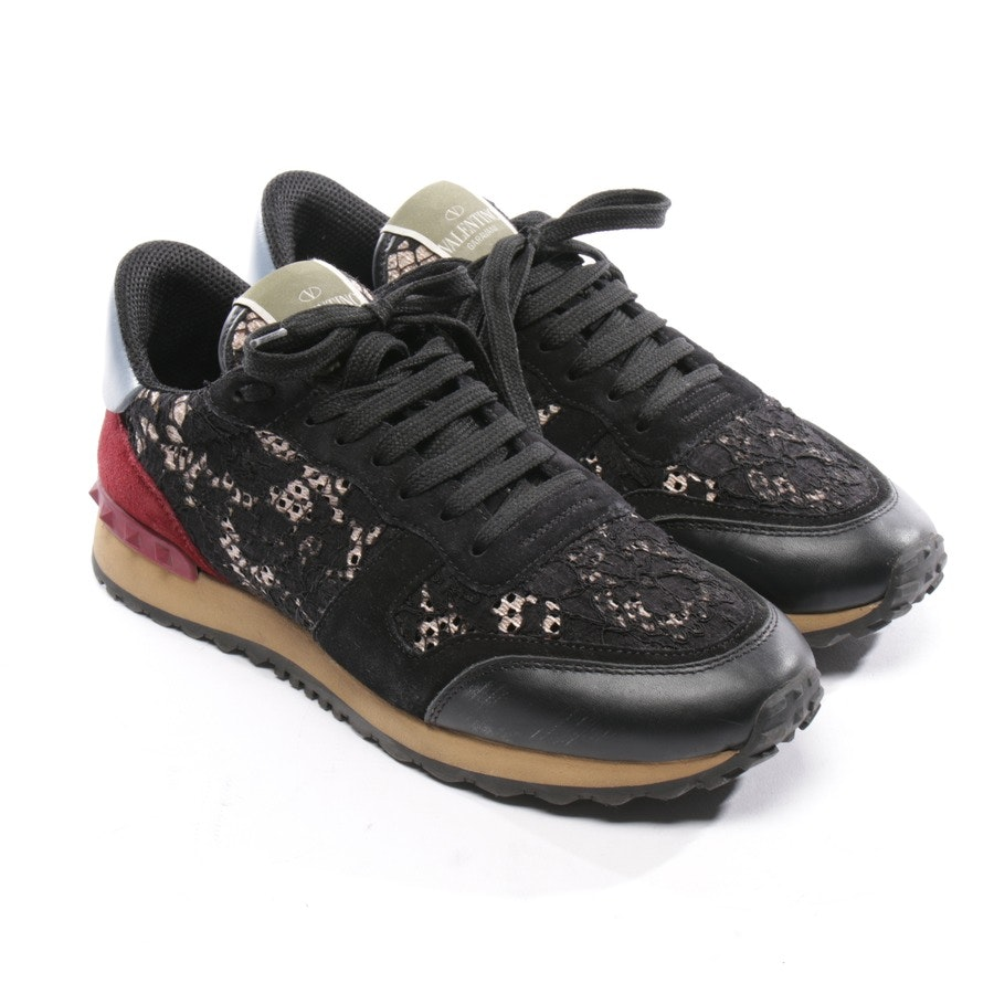 trainers from Valentino in black and multicolor size EUR 39 - rockstud
