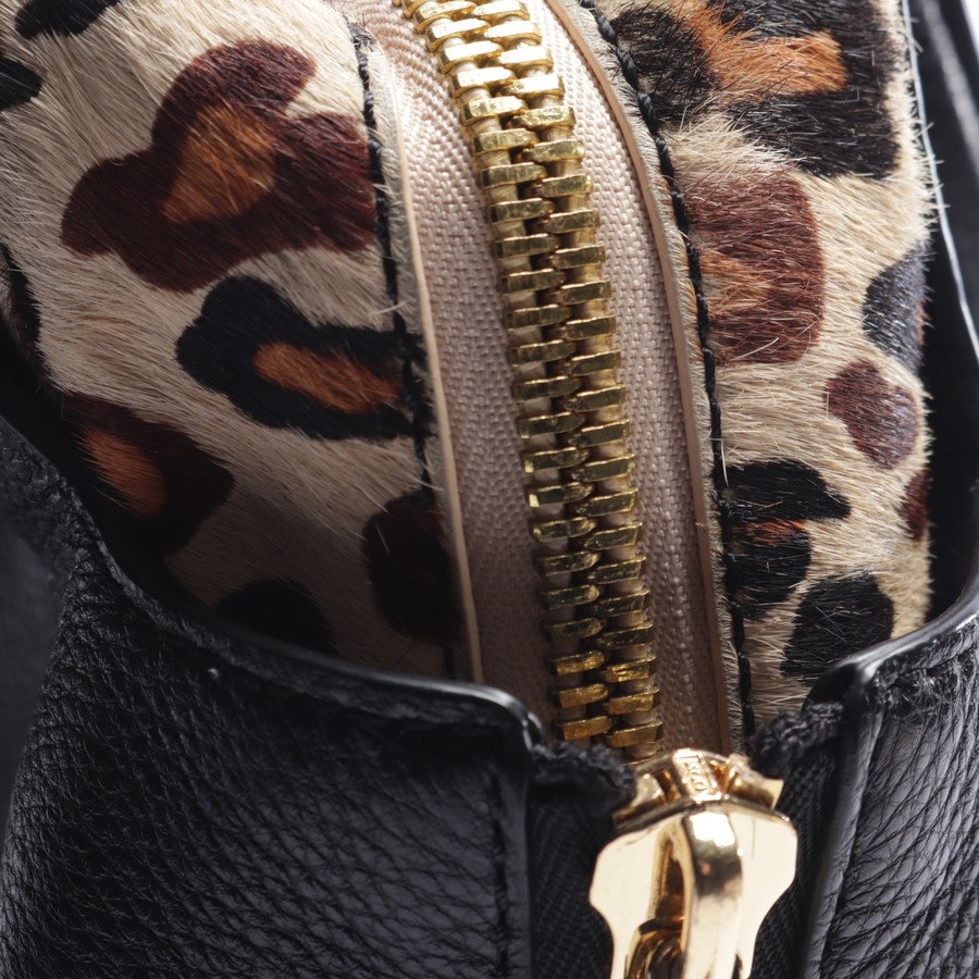 handbag from Marc Cain in black and multi-coloured