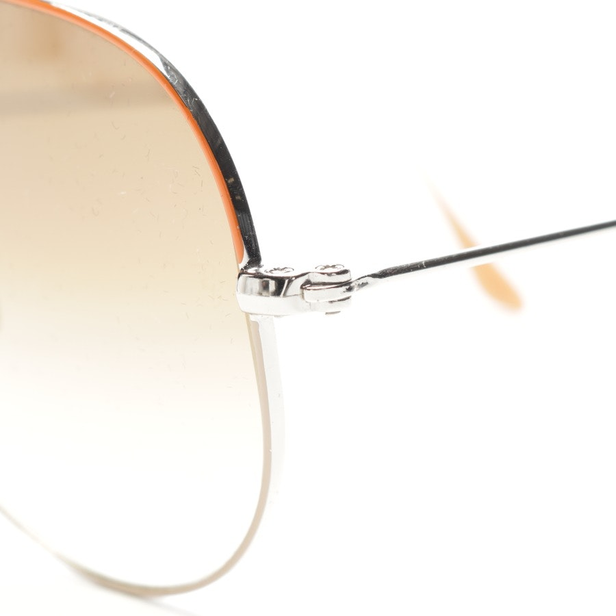 sunglasses from Ray Ban in orange and gold - aviator