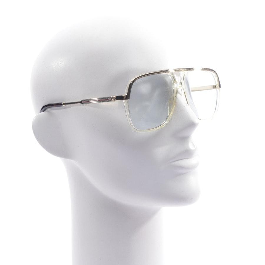 Brillengestell von Gucci in Gold und Grün - GG0200S - Neu