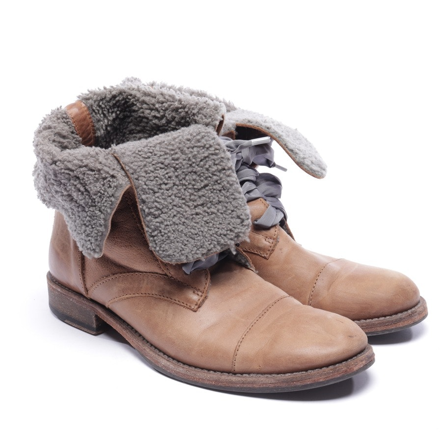 ankle boots from Brunello Cucinelli in cognac size EUR 39,5