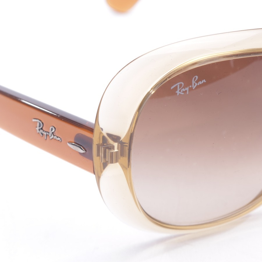 sunglasses from Ray Ban in beige and brown - rb4098