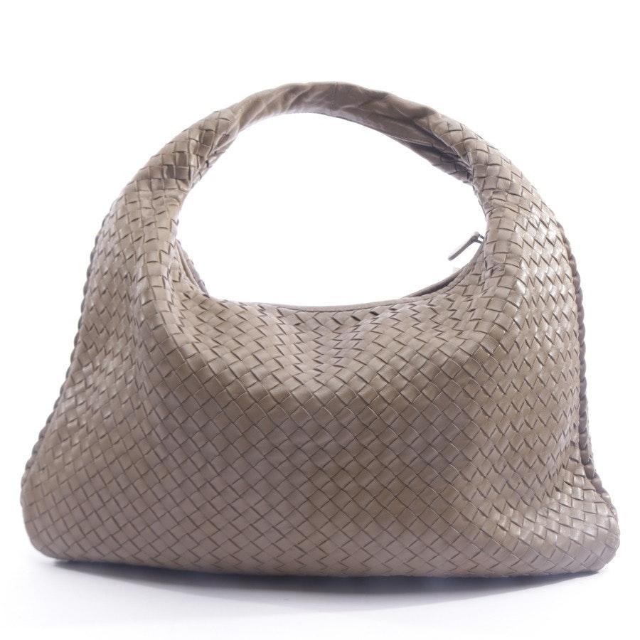 shoulder bag from Bottega Veneta in sand - intrecciato nappa hobo