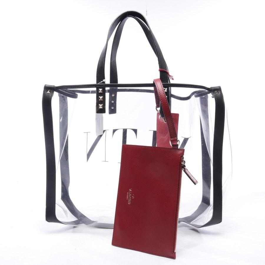Shopper von Valentino in Transparent und Schwarz - Neu