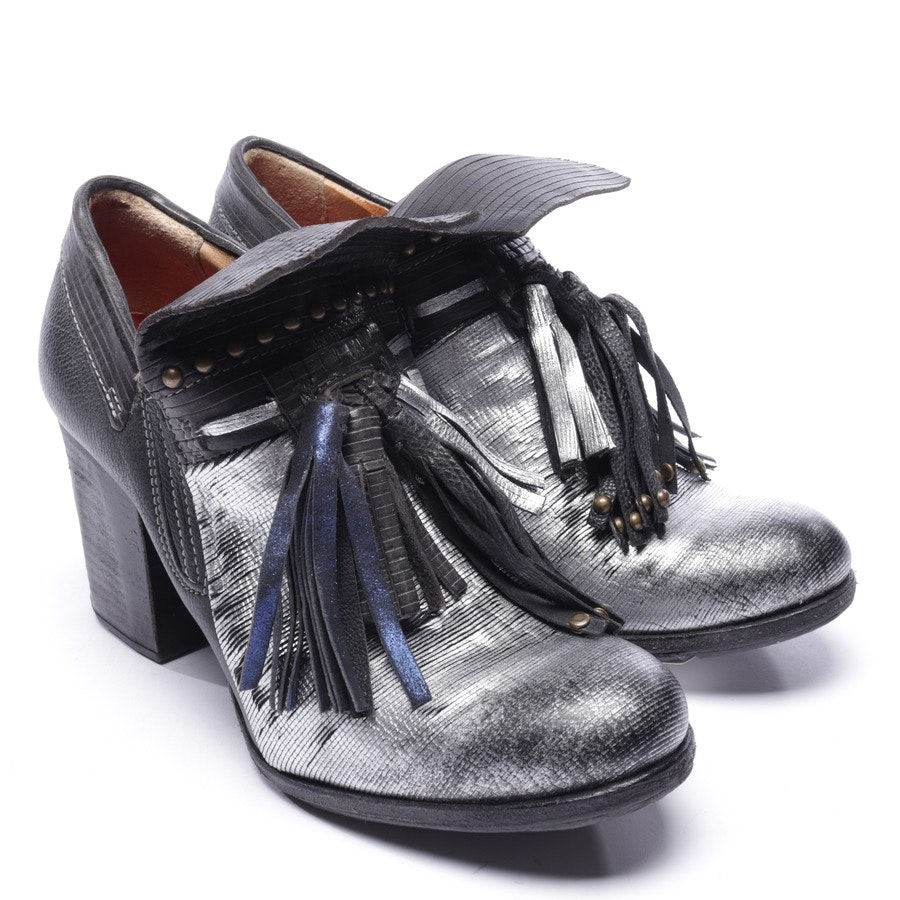 pumps from A.S.98 in black and silver size EUR 38