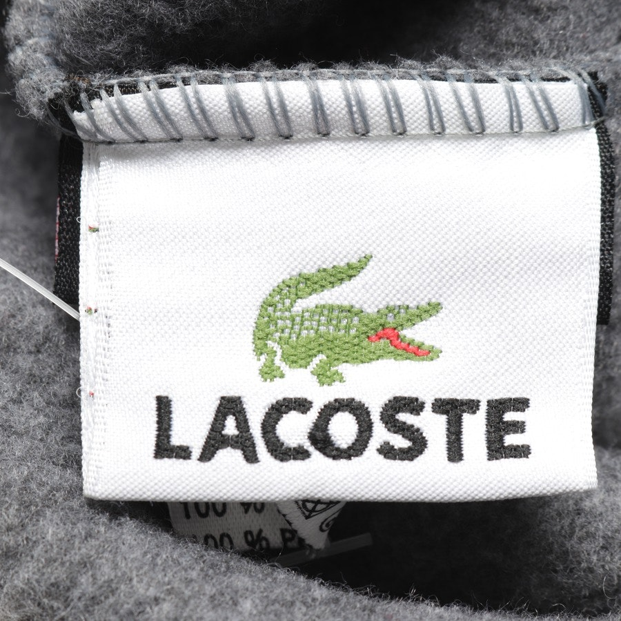 caps from Lacoste in grey mottled size L