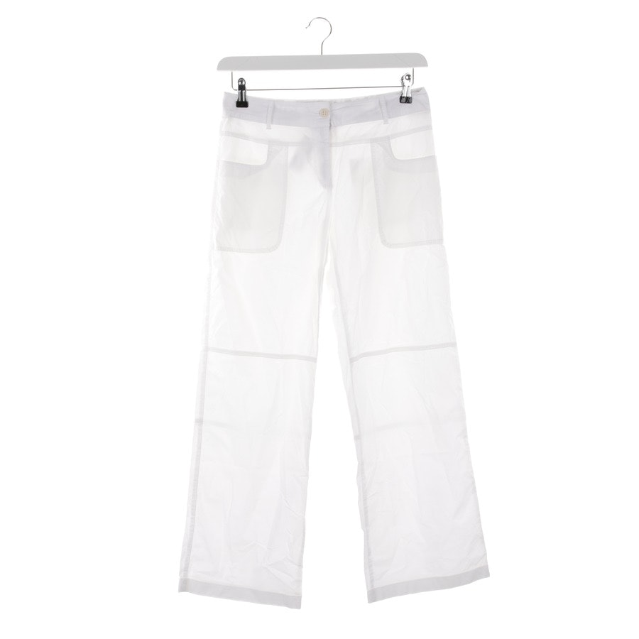 trousers from Max Mara in cream size 36